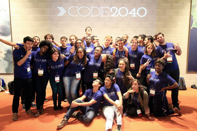 Code 2040 group photo